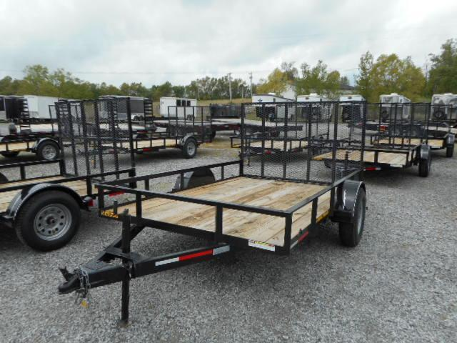 2016 Lawrimore Single Axle Utility Trailer