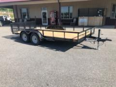 2019 Diamond C  GTU 235-16x83 Equipment Trailer