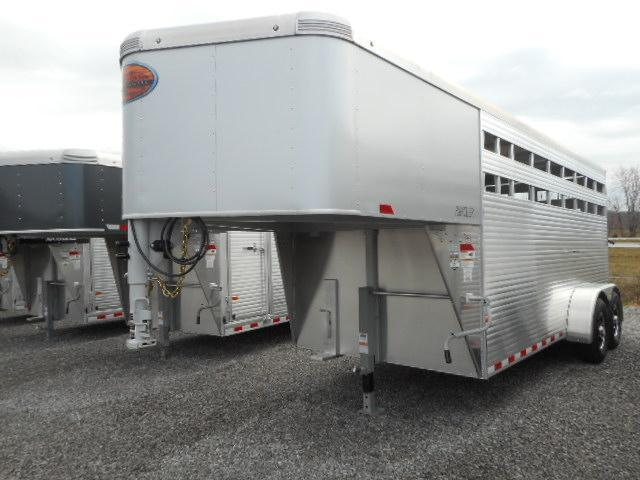 2018 Sundowner Trailers 16 GN Rancher 7 tall Livestock Trailer