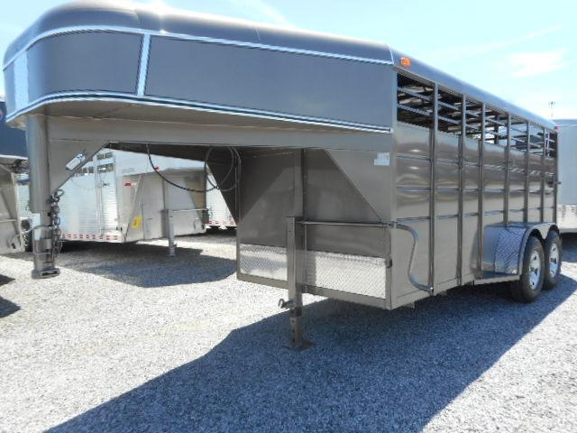 2016 Calico Trailers 16x6x6.5 GN Stock Horse Trailer