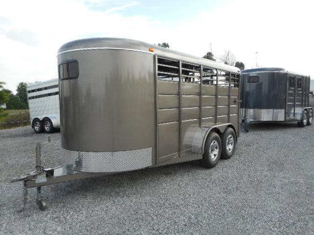 2016 Calico Trailers 16x6x6.5 BP Stock Horse Trailer