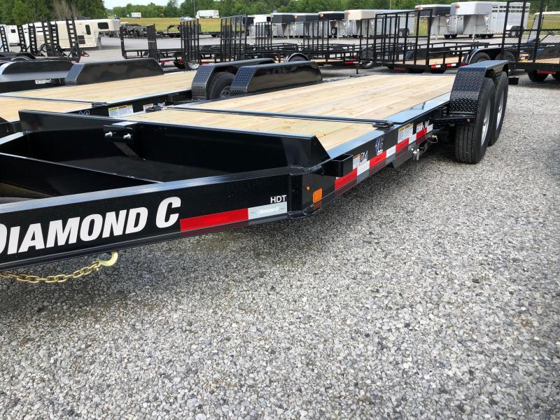 2019 Diamond C HDT 207- 20x82 Equipment Trailer