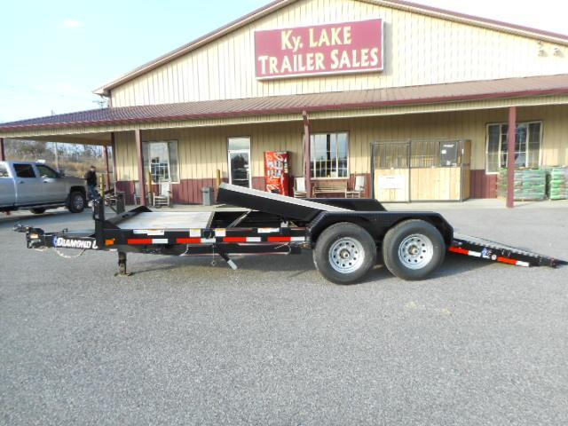 2018 Diamond C 45 HDTL 20x82 Hydraulic Tilt Equipment Trailer
