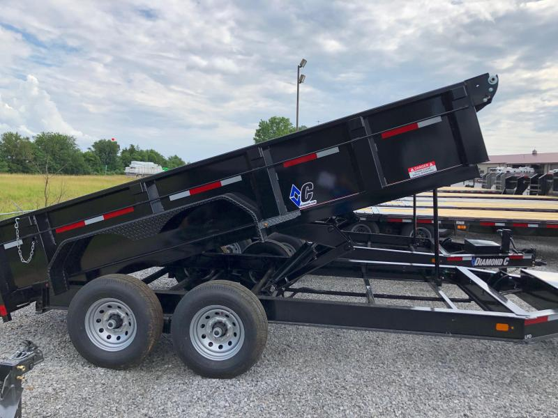 2019 Diamond C Trailers Low Pro Dump 207 14x82 Dump Trailer