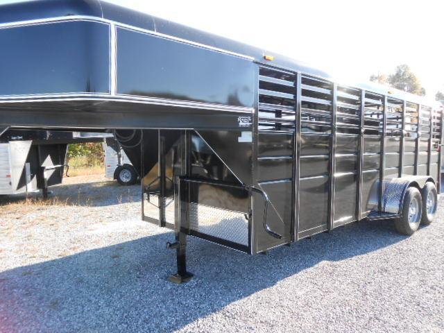 2015 Ranch King 20 GN Stock Trailer