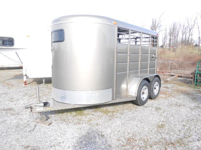 2013 Calico Trailers 12 BP Stock Horse Trailer