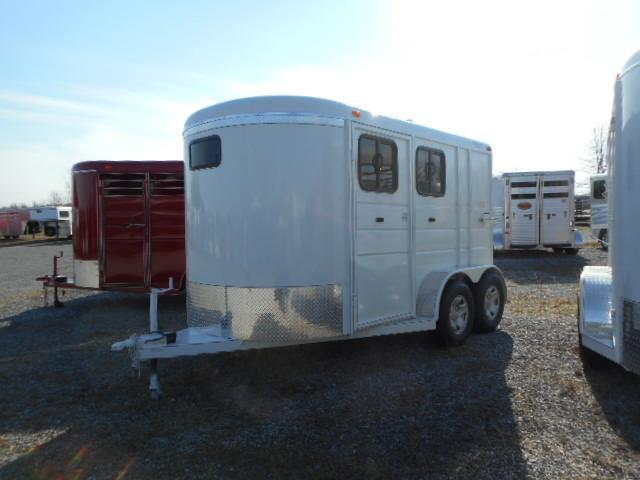 2016 Calico Trailers 2H BP DD Win Horse Trailer