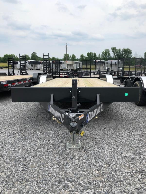 2019 Diamond C Trailers GTF 252-20x82 Equipment Trailer