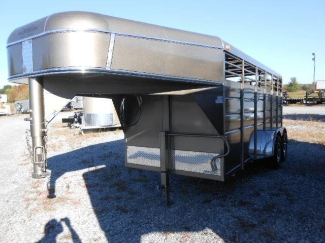 2015 Calico Trailers 16x6x6.5 Stock GN Trailer