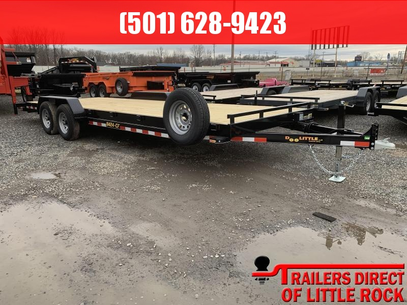 2019 Doolittle Trailer Mfg CF 84x24 Equipment Trailer