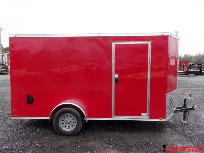 2020 Doolittle Trailer Mfg DOOLITTLE RAZIR BACK 6X12 Enclosed Cargo Trailer