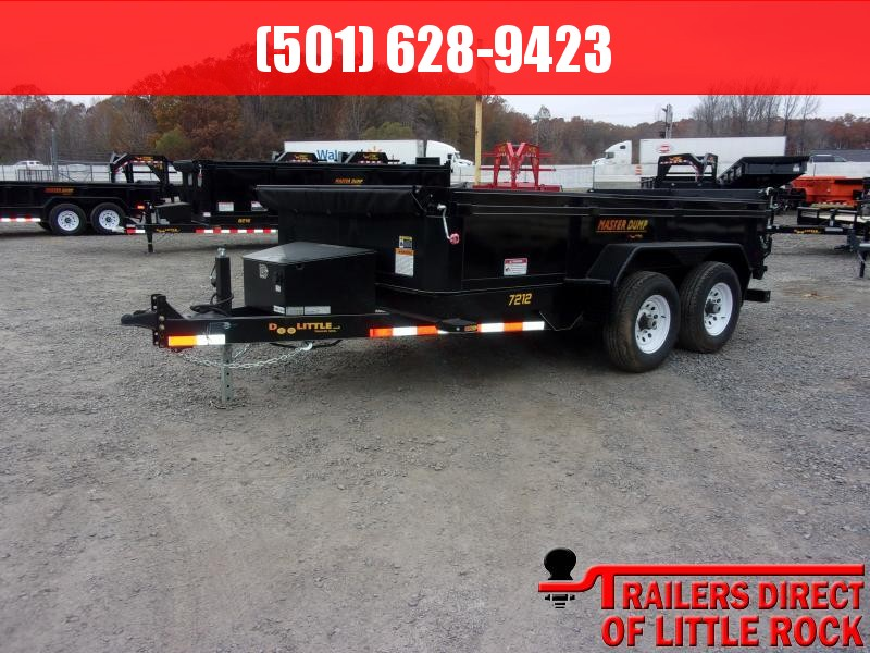 2019 Doolittle Trailer Mfg Masterdump 7212 10k Dump Trailer