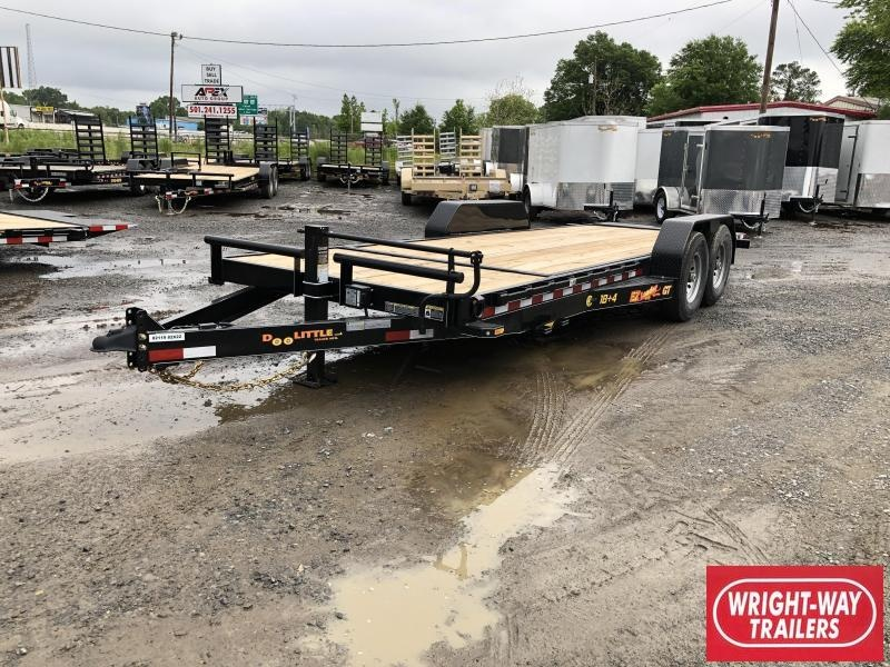 2019 Doolittle Trailer Mfg Doolittle GT EZ LOADER 82x22 (184) 14K GVWR Equipment Trailer