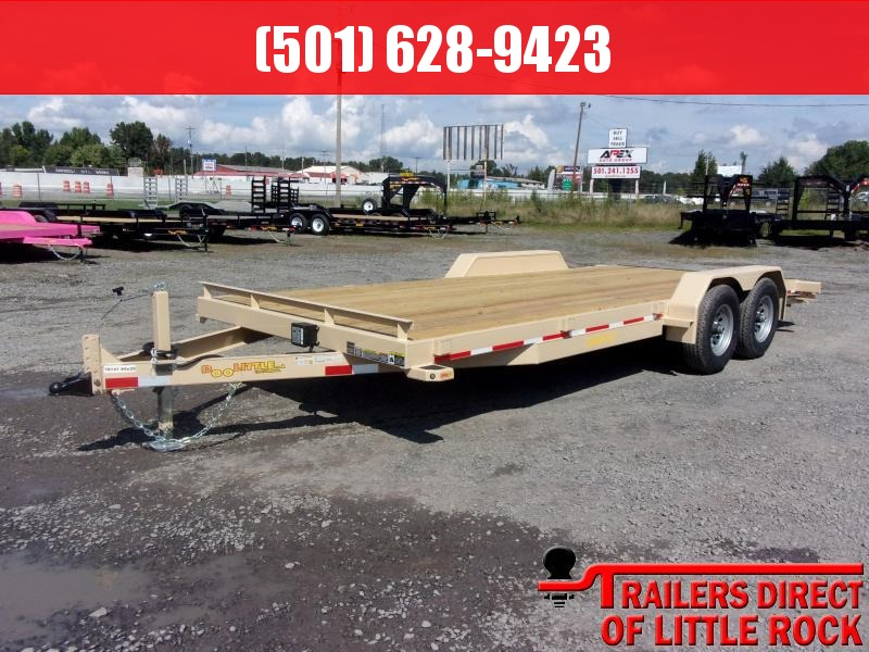 2019 Doolittle Trailer Mfg CF 84x20TA 10k Self Store Ramps Equipment Trailer