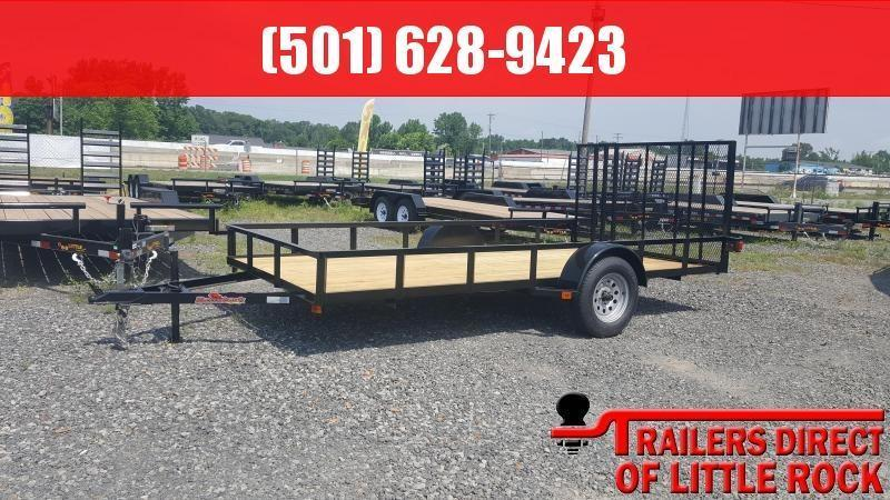 2018 Doolittle Trailer Mfg Razorback 6.5x14 Utility Trailer