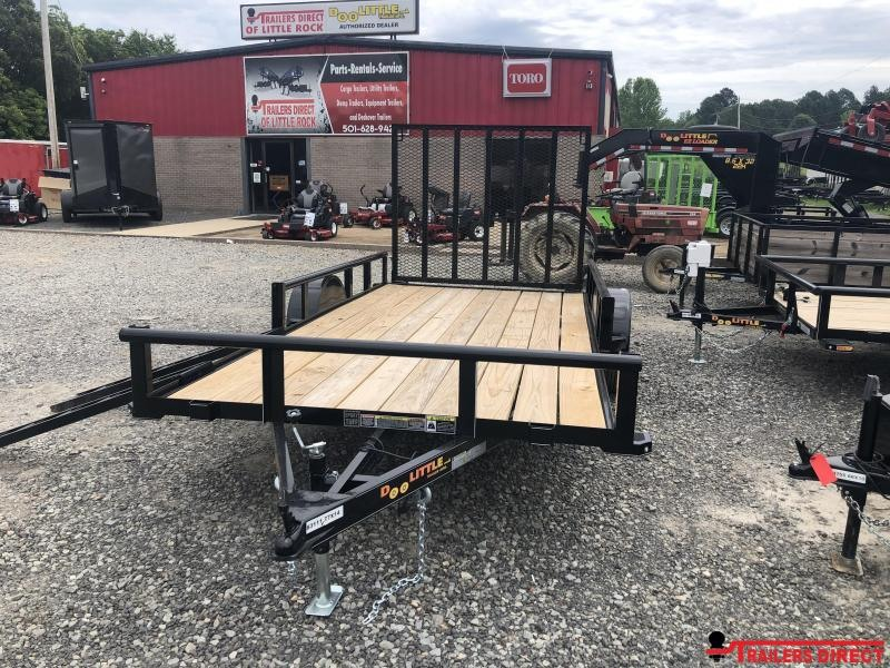 2019 Doolittle Trailer Mfg Doolittle Trailer Mfg 7714 Side Load ATV Trailer Utility Trailer