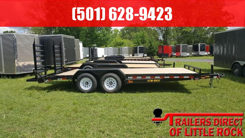 2018 Doolittle Trailer Mfg Xtreme 84x18 10k Equipment Trailer