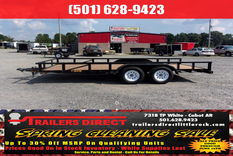 BLOWOUT!! 2019 Doolittle Trailer Mfg Utility 84x16TA Utility Trailer
