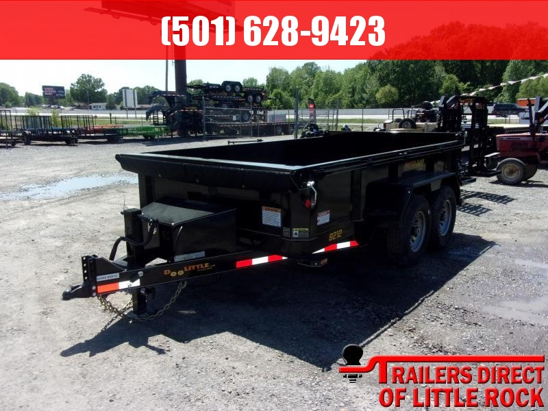 2019 Doolittle Trailer Mfg Masterdump 8200 Series 82 x 12 Tandem Axle 14K Dump Trailer