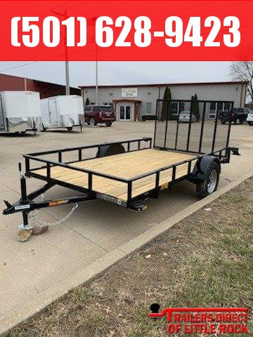 2019 Doolittle Trailer Mfg 77 x 12 Rally Sport Utility Trailer (Stock # 82344)