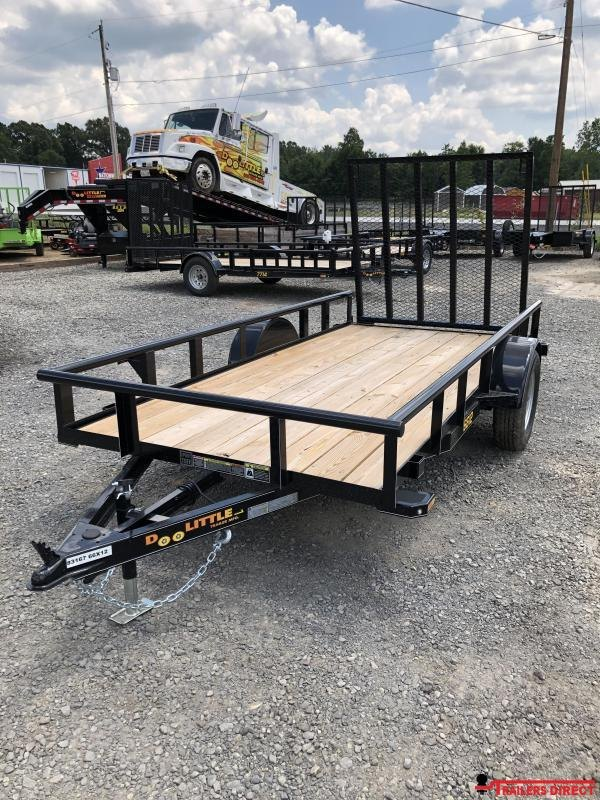 2019 Doolittle Trailer Mfg Pipe top Utility 66x12 Utility Trailer
