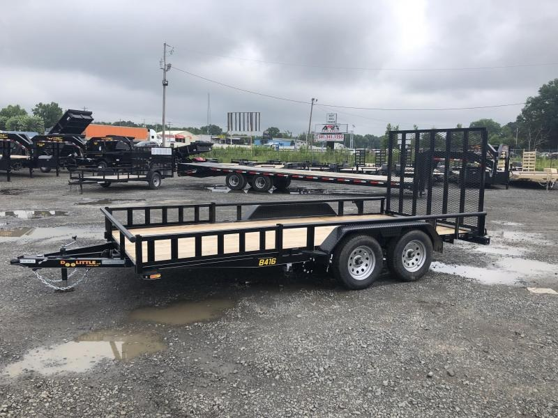 2019 Doolittle Trailer Mfg Doolittle Trailer Mfg 8416 Side Load ATV Trailer Utility Trailer