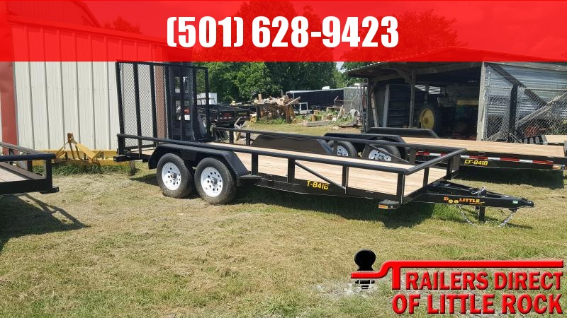 2018 Doolittle Trailer Mfg Pipe Top Utility 84x16 7k Utility Trailer