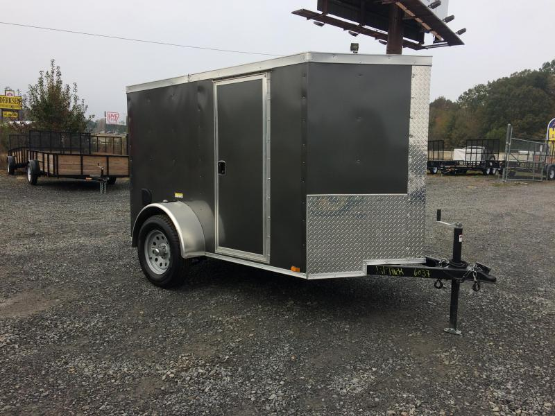 2018 Quality Cargo 5X8 SA CHARCOAL BARN DOOR