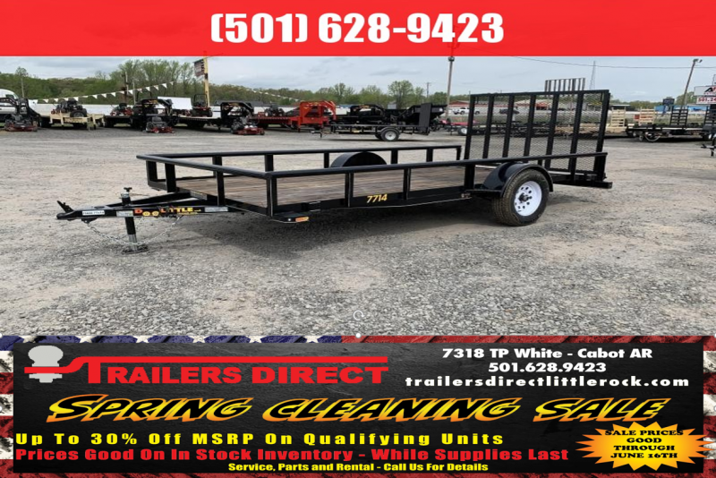 BLOWOUT!! 2018 Doolittle Trailer Mfg Utility 77x14 Utility Trailer
