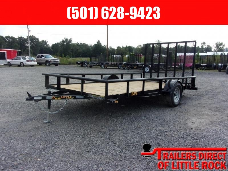 2019 Doolittle Trailer Mfg Utility 84X14 Pipe Top Utility Trailer