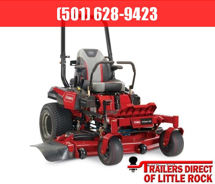 "2019 Toro 52"" TITAN HD 2000 Series MyRIDE Zero Turn Mower 74466 Lawn"