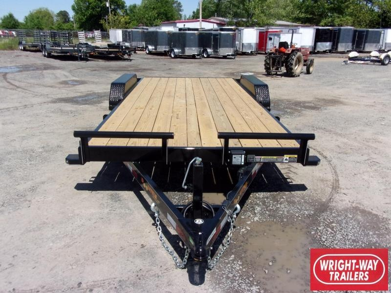 2019 Doolittle Trailer Mfg CF 84x18 TA 10k Self Store Ramps Equipment Trailer
