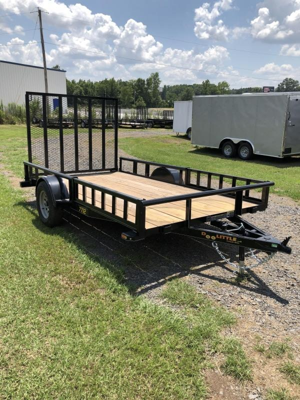 2018 Doolittle Trailer Mfg Utility 77x12 Utility Trailer Side Load ATV Trailer