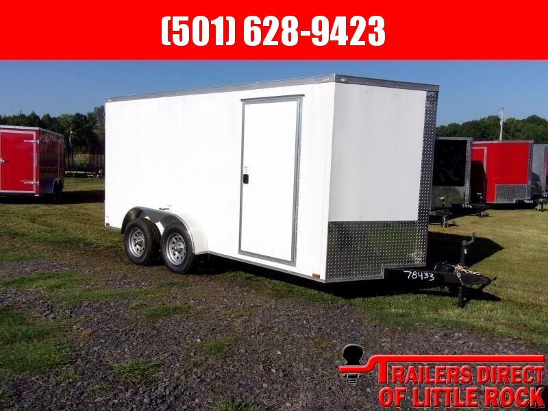 2019 Doolittle Razorback 7X14TA WHITE RAMP DOOR