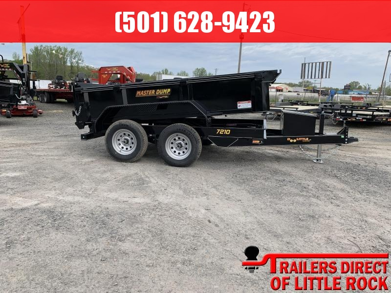 2019 Doolittle Trailer Mfg Masterdump 72x10 7k Single Cylinder Dump Trailer
