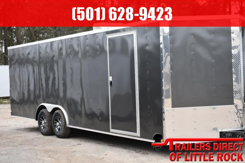 2018 DooLitttle Trailers 2018 Doolittle Razorback 8.5x28 14k V-Nose Race Enclosed Cargo Trailer