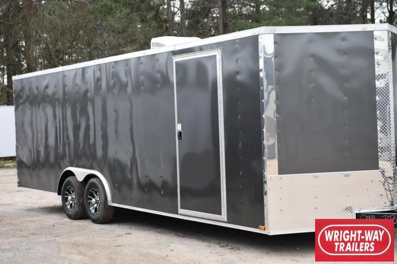 2018 DooLitttle Trailers 2018 Doolittle Razorback 8.5x28 14k V-Nose Race Enclosed Cargo Trailer
