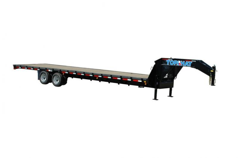 2020 TOP HAT 24X102 GOOSENECK DECK OVER 24K