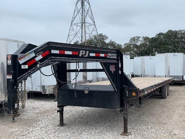 USED 2017 PJ 32X102 GOOSENECK DECK OVER 14K