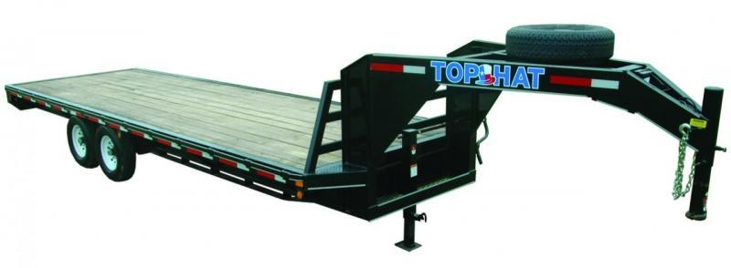 2020 TOP HAT 24X102 GOOSENECK DECK OVER 14K