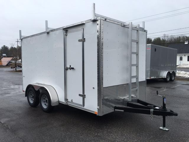 2017 Integrity Trailers HL 7X14 T Contractors Trailer
