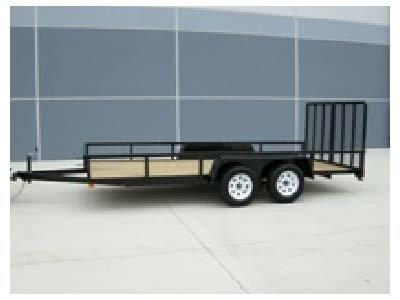 2018 Bri-Mar Utility Trailer