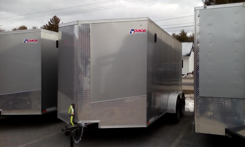 2017 Pace American JV 7X14 TE2 Enclosed Cargo Trailer