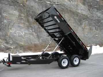 2018 Bri-Mar DT714LP-LE-14 Dump Trailer