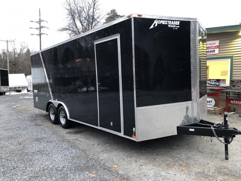 2019 Homesteader 820IT Enclosed Cargo Trailer