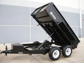 2018 Bri-Mar DT610LP-LE-10 Dump Trailer