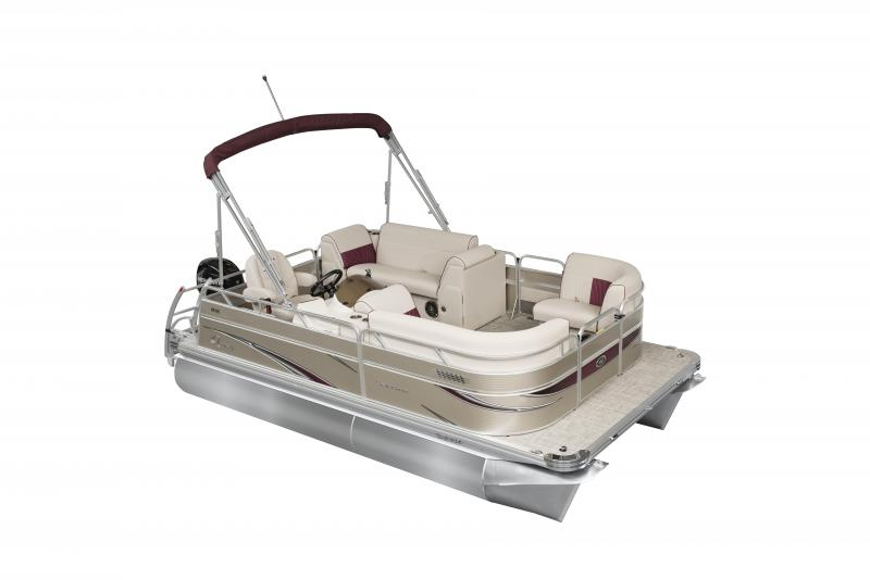 2020 Qwest LS 816 CTR Pontoon Boat