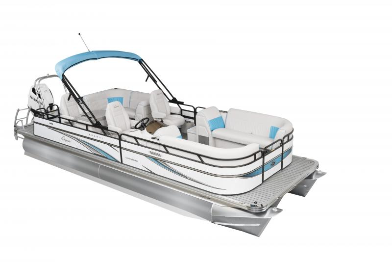 2020 Qwest LS 824 Lanai DS Bar TT Pontoon Boat