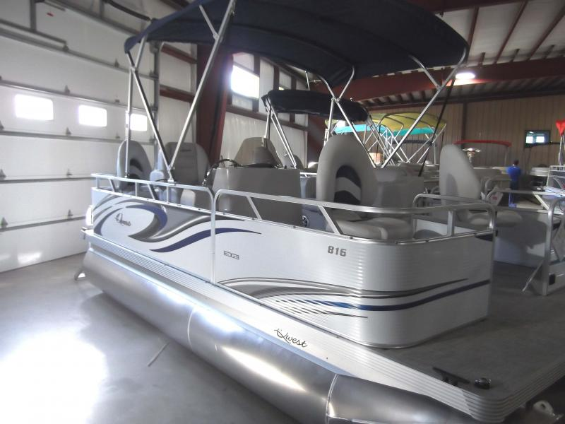 2020 Qwest Edge 816 VX Fish Pontoon Boat