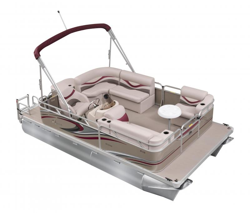 2020 Qwest Edge 816 Cruise Pontoon Boat